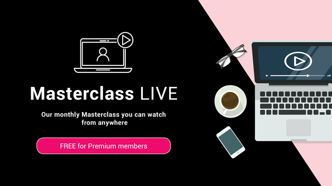 Monthly Masterclass LIVE: Check out what's coming up