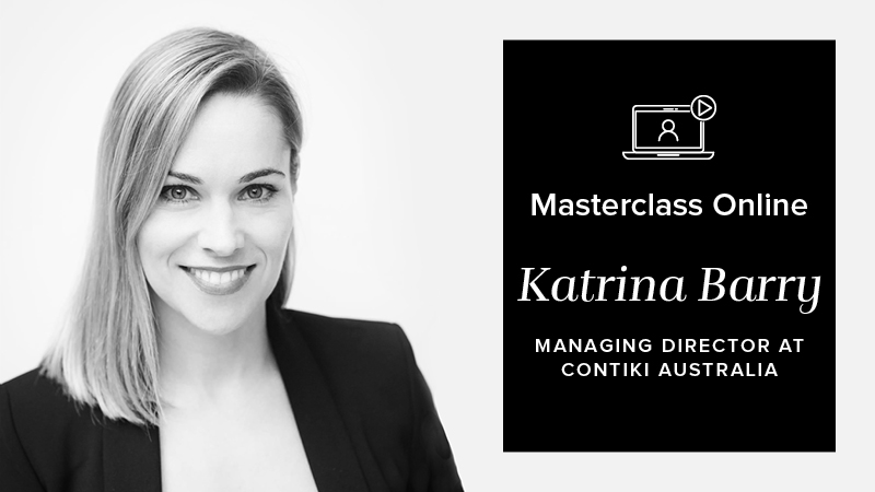 MASTERCLASS ONLINE: HOW TO LEAD AND MANAGE MILLENNIALS WITH KATRINA BARRY