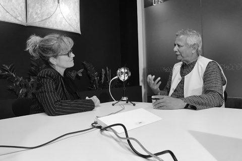 Podcast of the week: Karen James in conversation with Professor Yunus