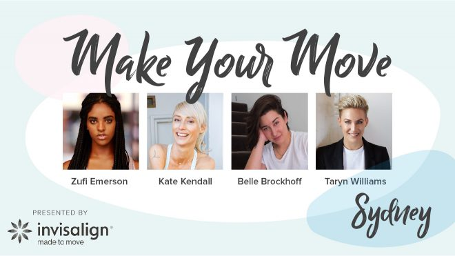 SYDNEY WOMEN WHO MOVE PRESENTED BY INVISALIGN