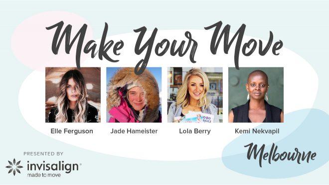 MELBOURNE WOMEN WHO MOVE PRESENTED BY INVISALIGN
