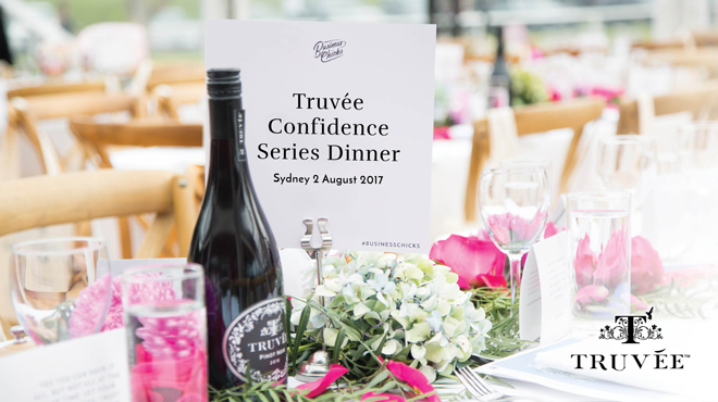 SYDNEY TRUVÉE CONFIDENCE SERIES DINNER
