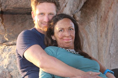 The one lesson Turia Pitt wants to teach her son