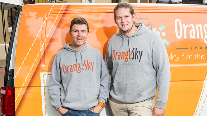 GOLD COAST BREAKFAST WITH THE FOUNDERS OF ORANGE SKY LAUNDRY