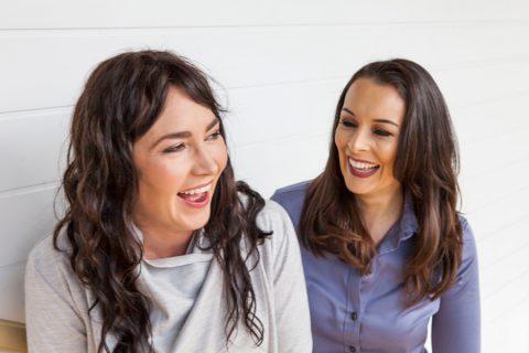How we met: Amanda Falahey and Teree Clare