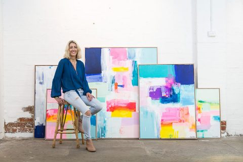 How self-taught artist Kirsten Jackson found her passion