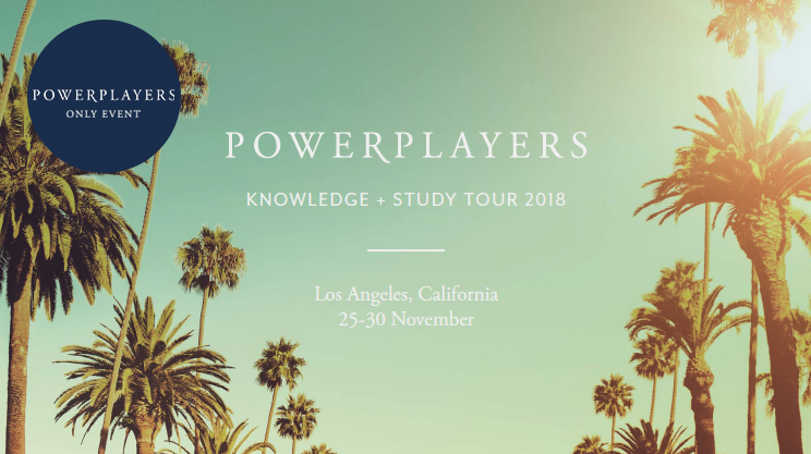 KNOWLEDGE + STUDY TOUR 2018