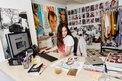 Behind the desks of successful women: Justine Cullen