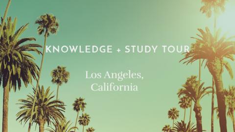 KNOWLEDGE + STUDY TOUR 2019