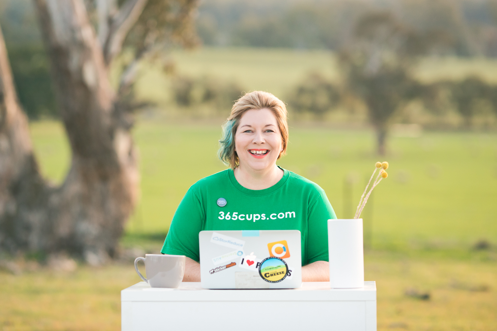 How one member is taking on the world with her coffee ordering app