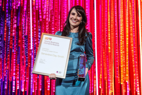 Meet Genevieve Clay-Smith, Telstra Australia Business Women's Emerging Leader Award Winner