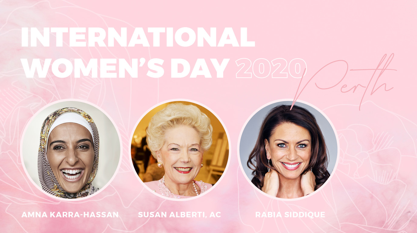 INTERNATIONAL WOMEN'S DAY PERTH