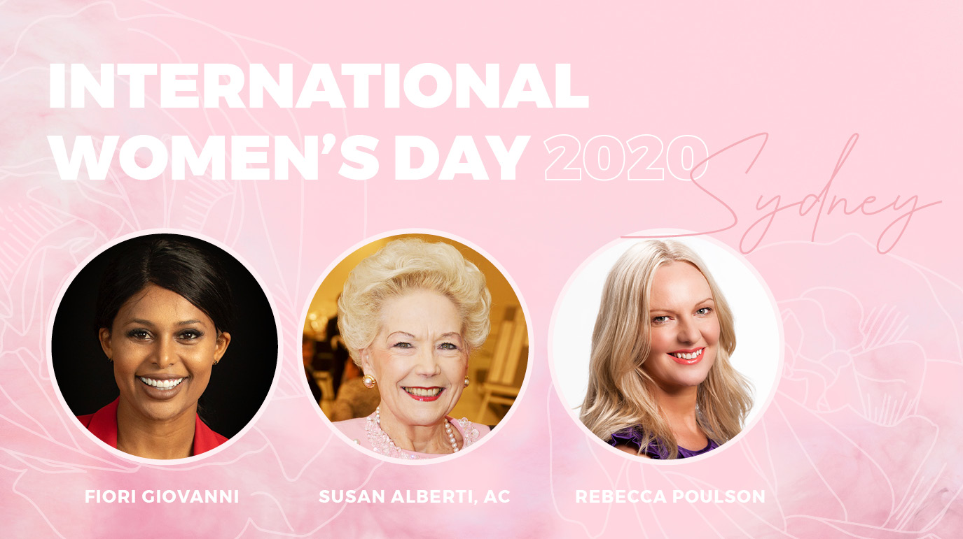 INTERNATIONAL WOMEN'S DAY SYDNEY