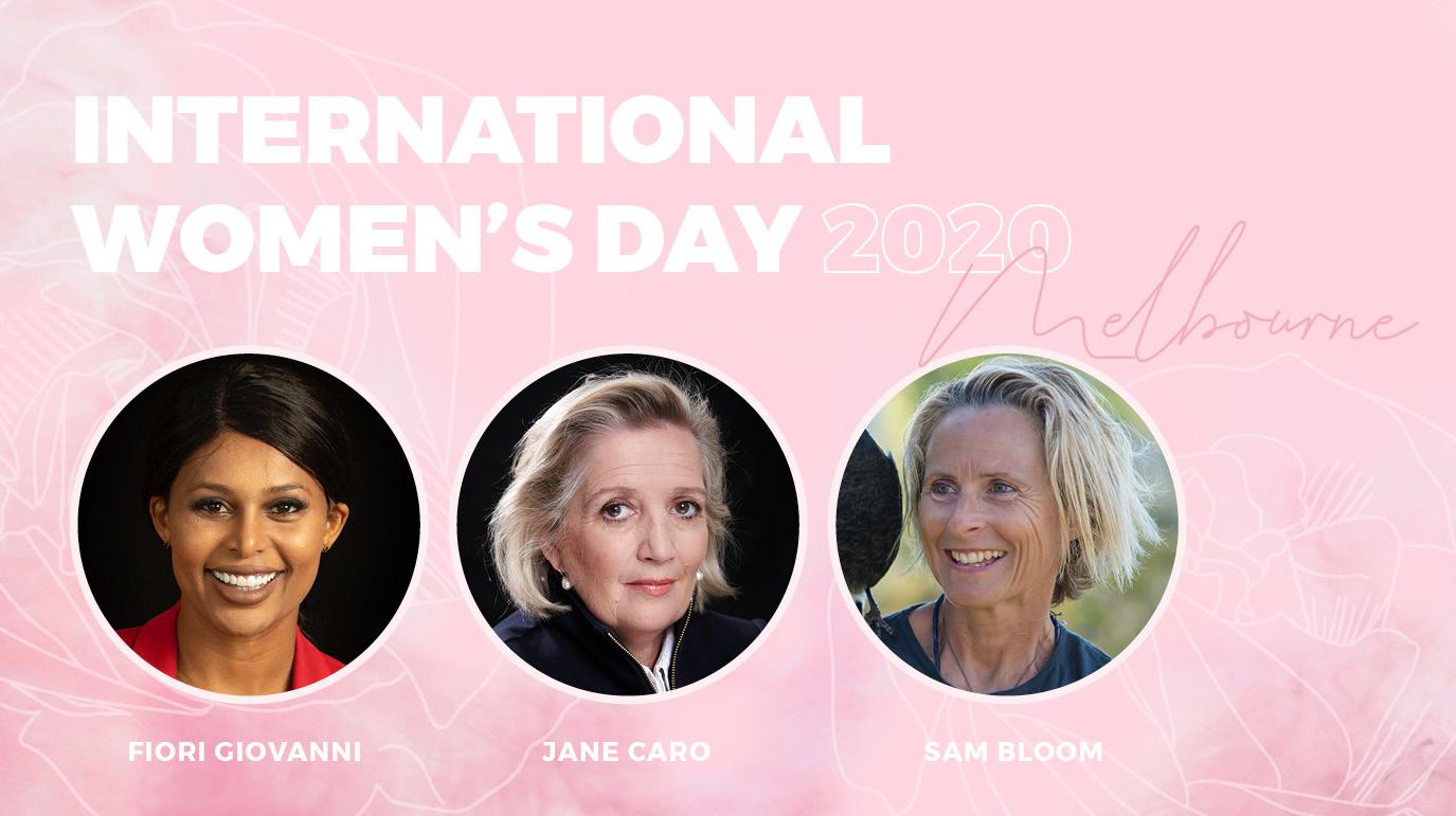 INTERNATIONAL WOMEN'S DAY MELBOURNE