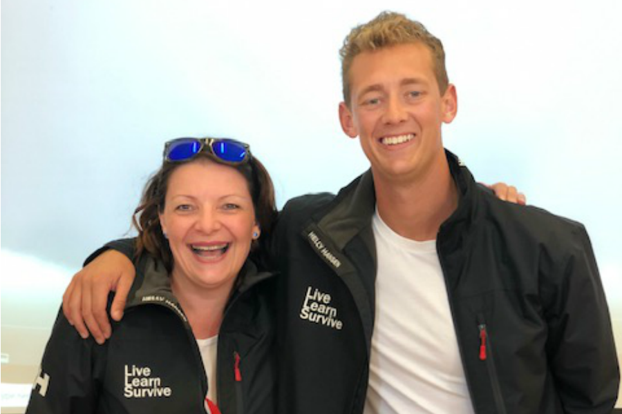 How Leigh Mason started a business with Bondi Rescue's lifeguard Maxi