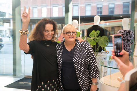 What Diane von Furstenberg taught me about picking a career (and a dress)