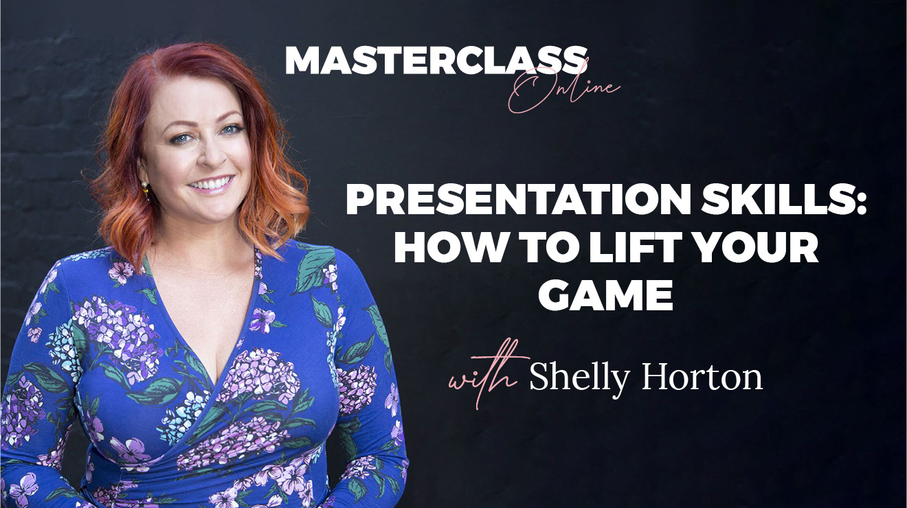 Masterclass: Presentation skills – How to lift your game