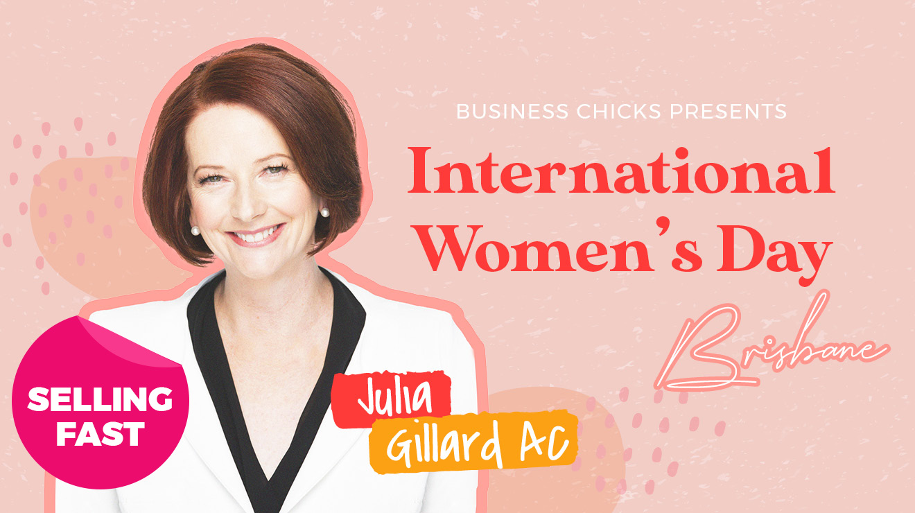Brisbane International Women's Day with Julia Gillard