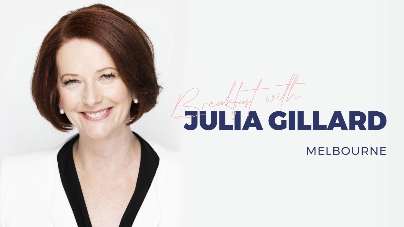 Breakfast with Julia Gillard Melbourne