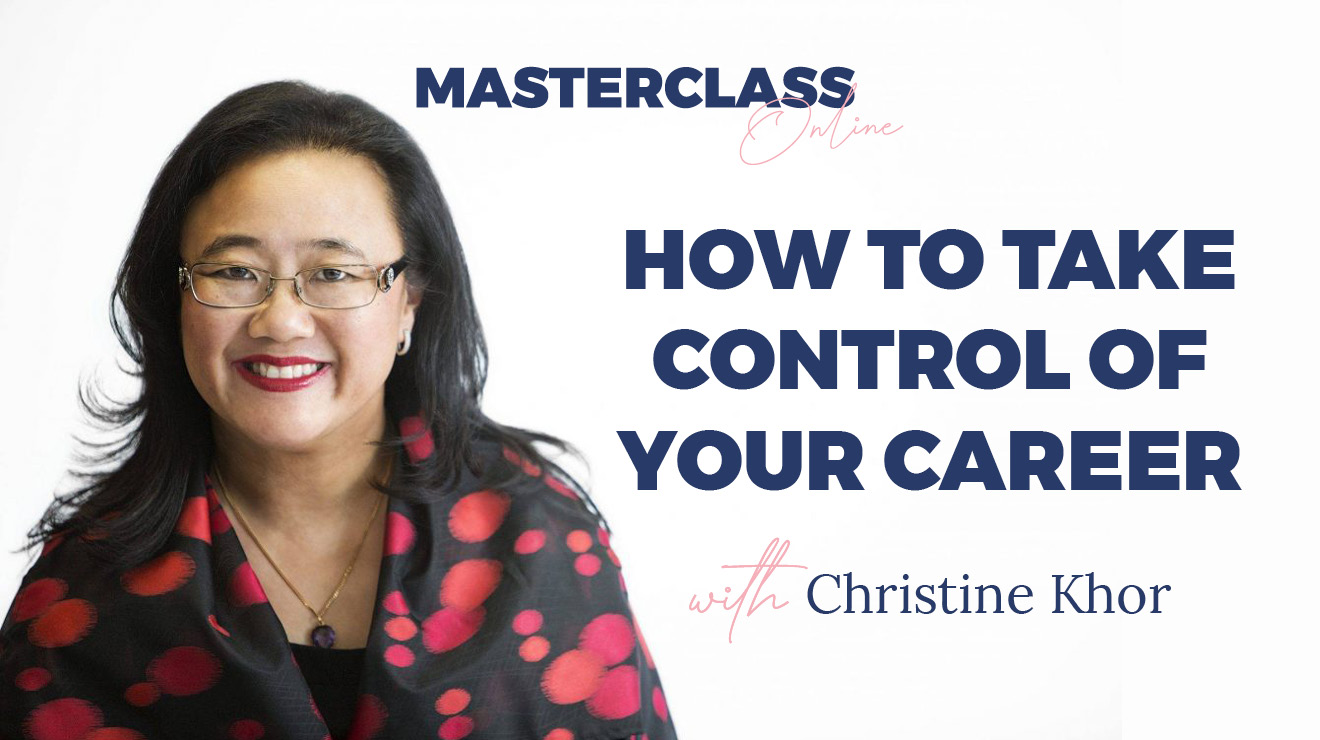 Masterclass: How To Take Control of your Career
