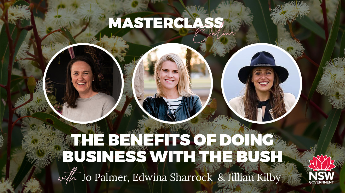 Masterclass: The Benefits of Doing Business with the Bush