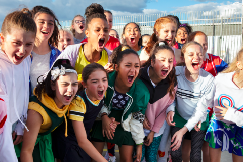 The power of sport in building confident girls