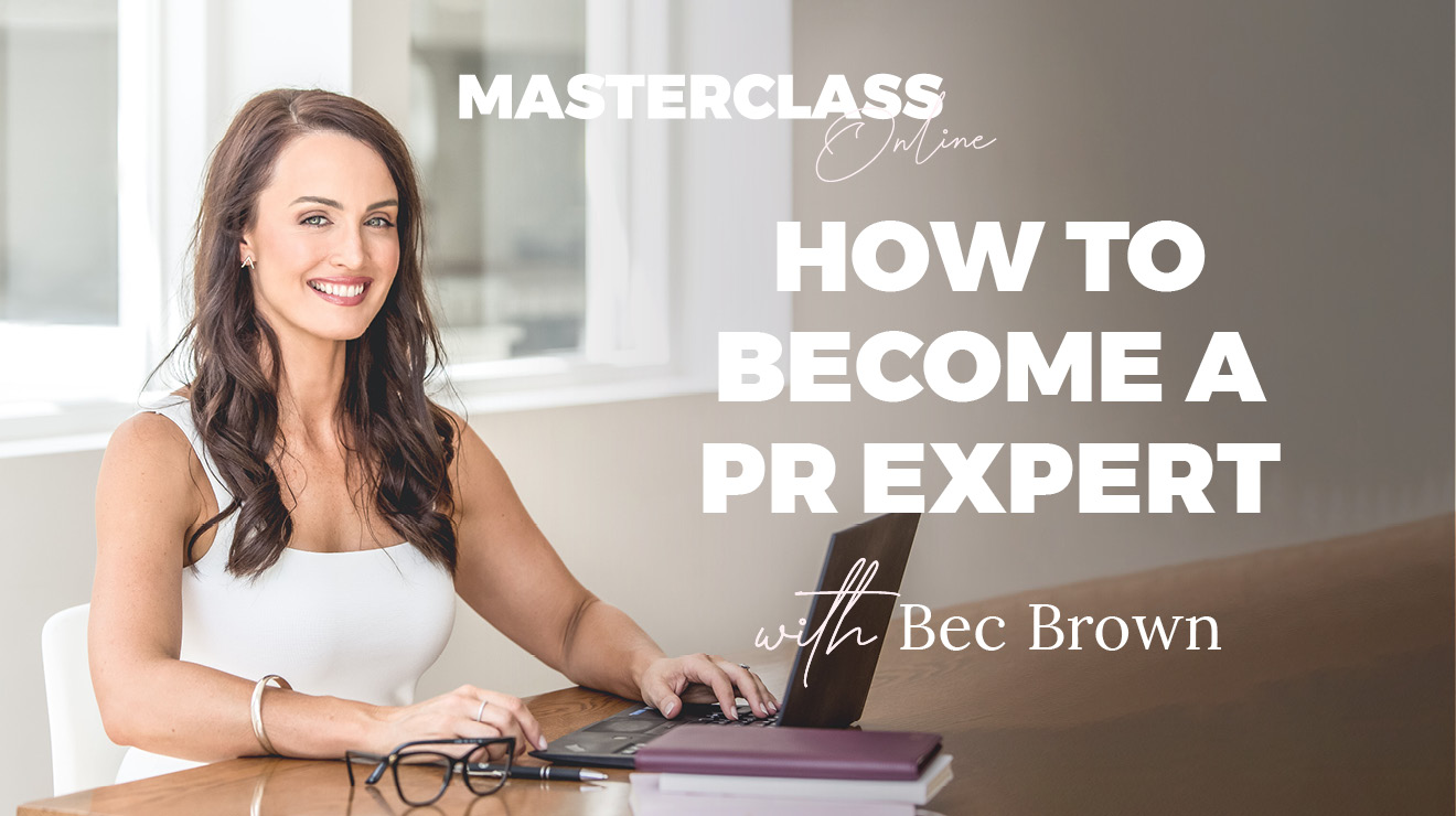 Masterclass: How to become a PR expert