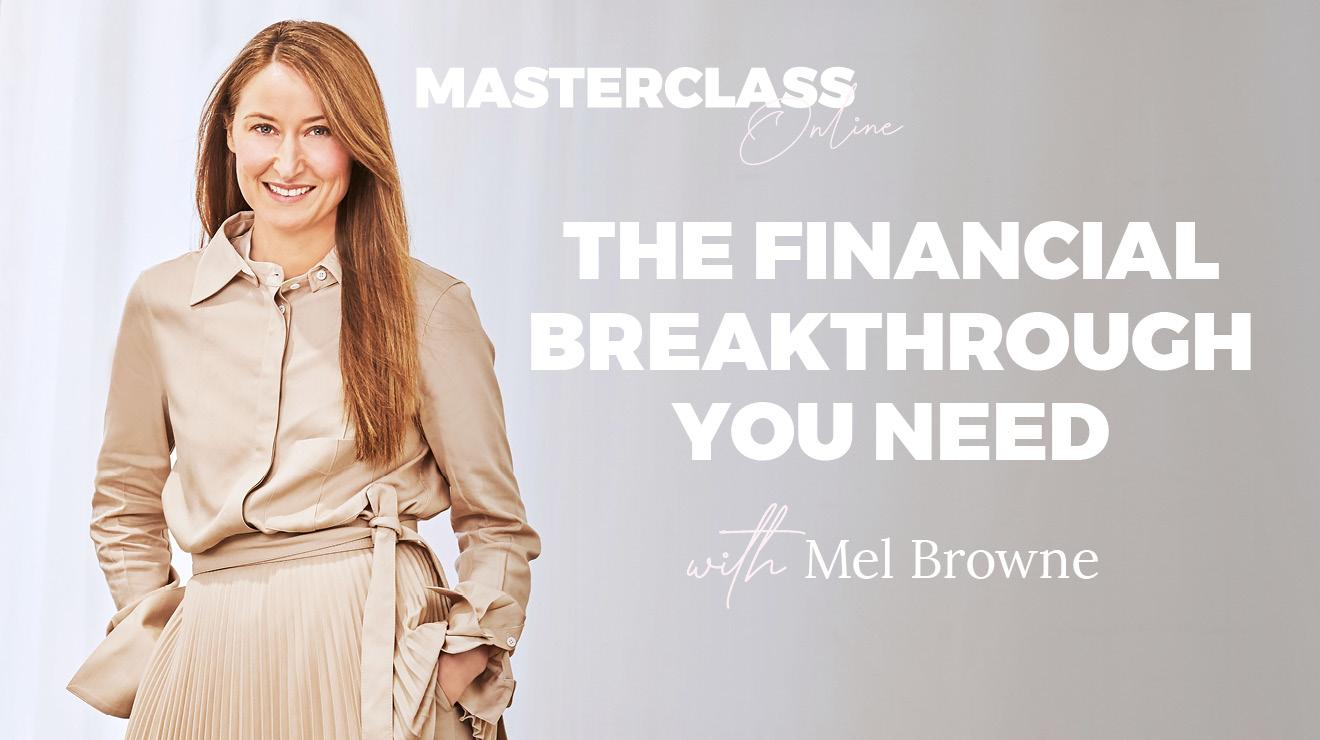 Masterclass: The Financial Breakthrough You Need