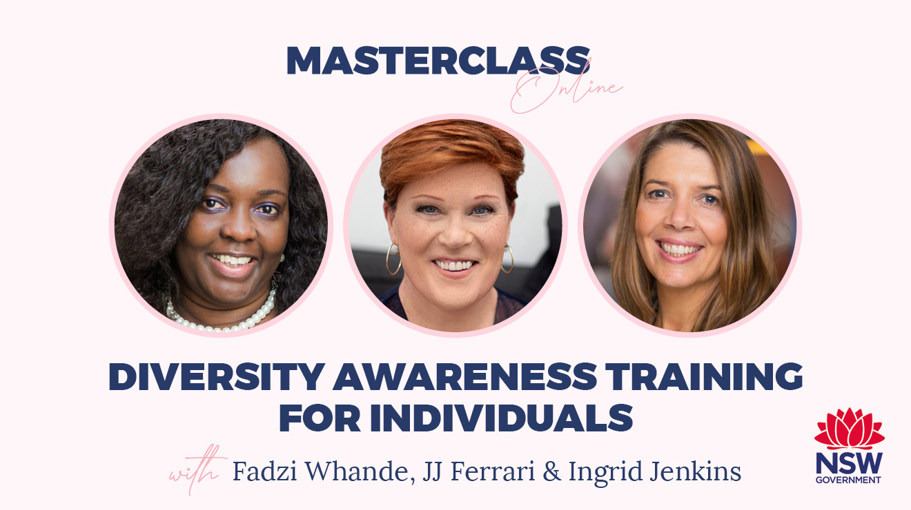 Masterclass: Diversity awareness training for individuals
