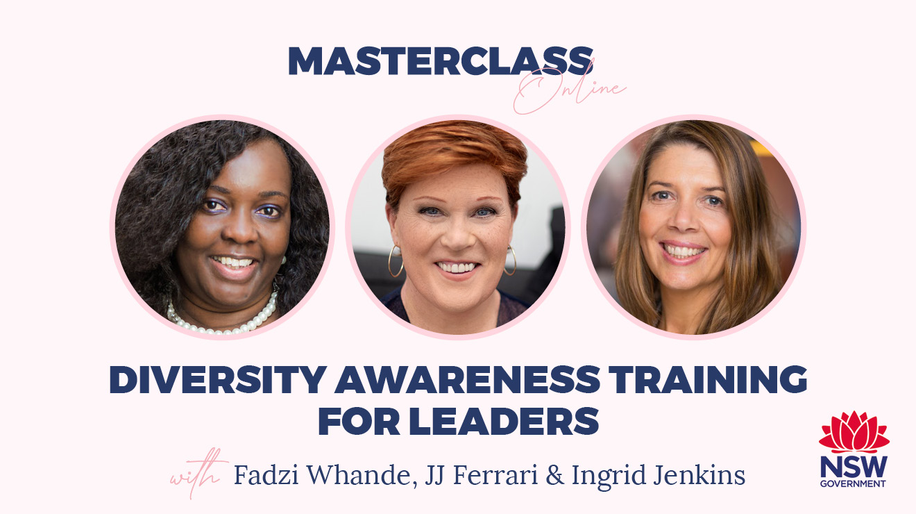 Masterclass: Diversity awareness training for leaders