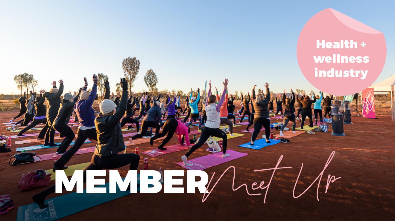 Member online meet-up: Health and wellness industry