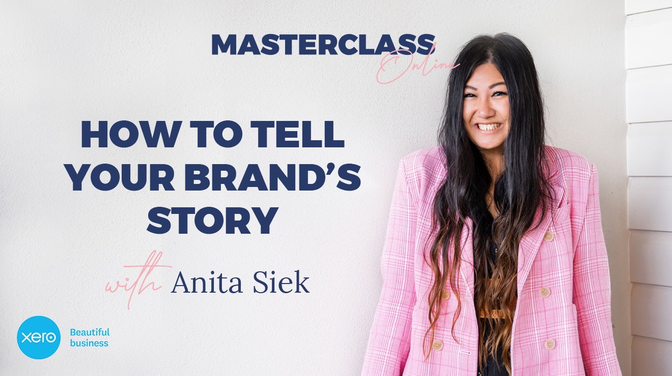 Masterclass: How to tell your brand's story