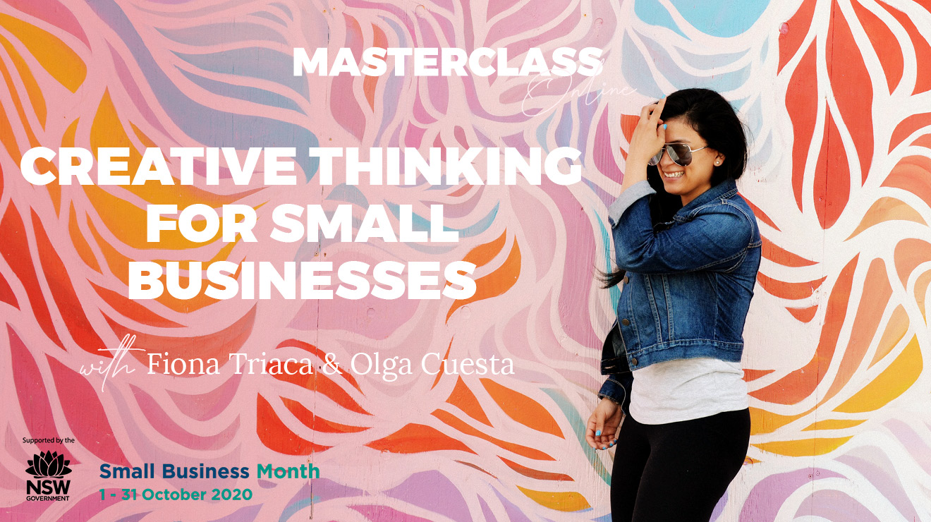 Masterclass: Creative thinking for small businesses