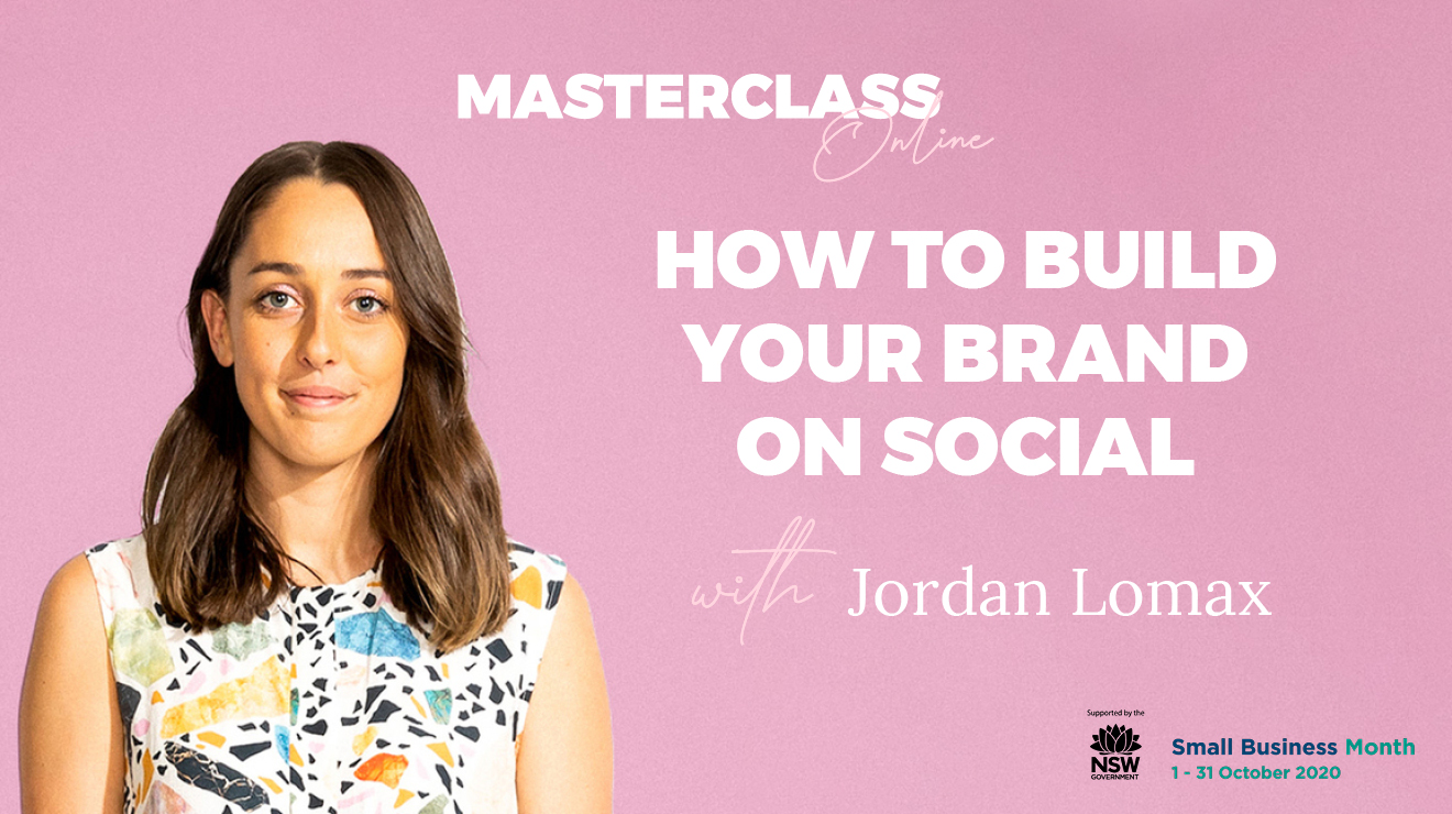 Masterclass: How to build your brand on social