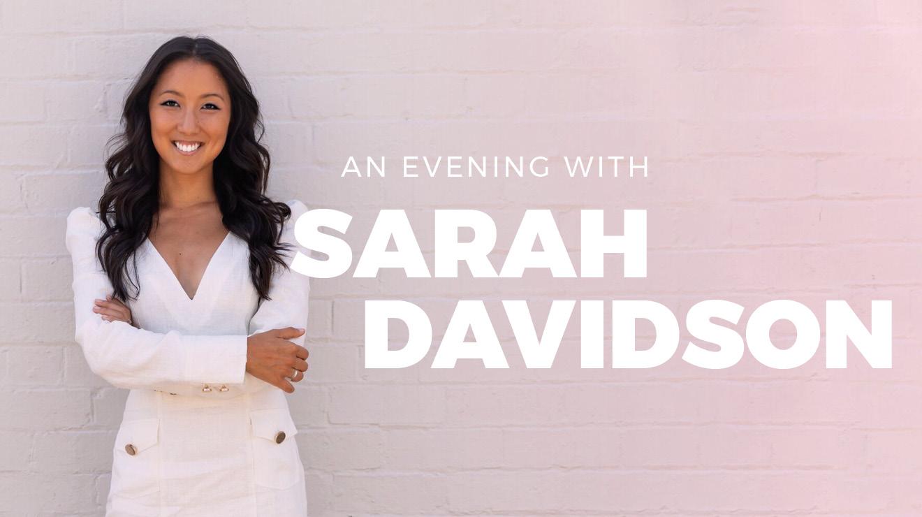 An Evening with Sarah Davidson