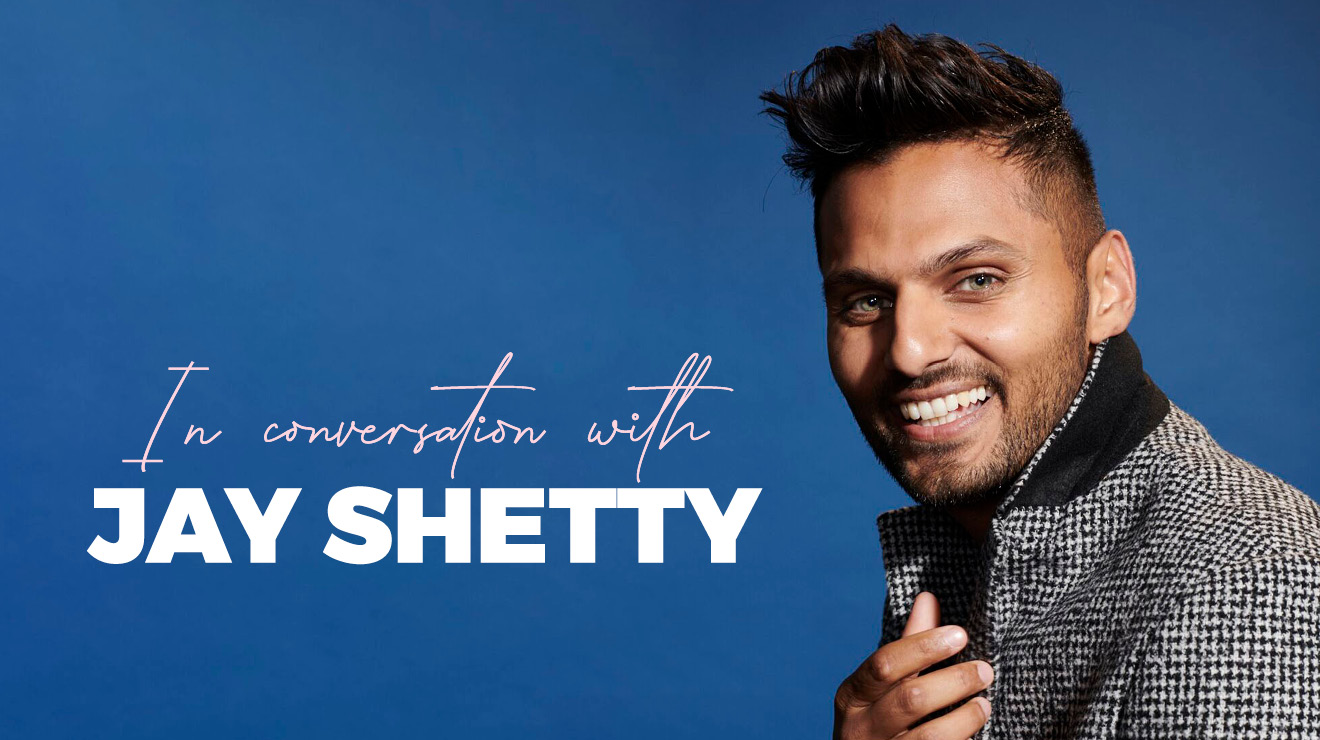 REPLAY: In Conversation with Jay Shetty