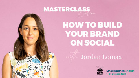 Masterclass replay: How to build your brand on social