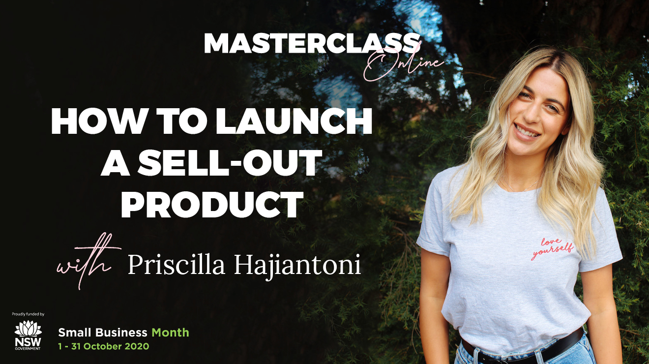 Masterclass: How to launch a sell-out product