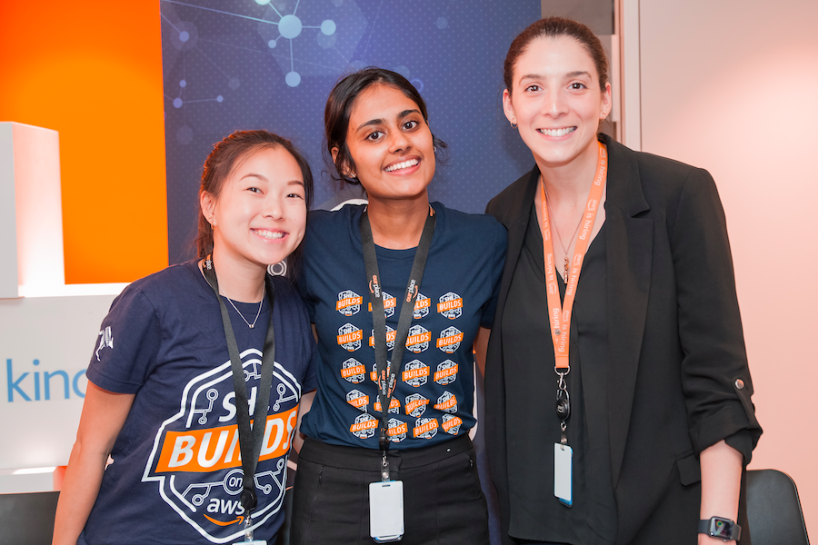 Women in tech, save the date! You don't want to miss AWS She Builds Day Online