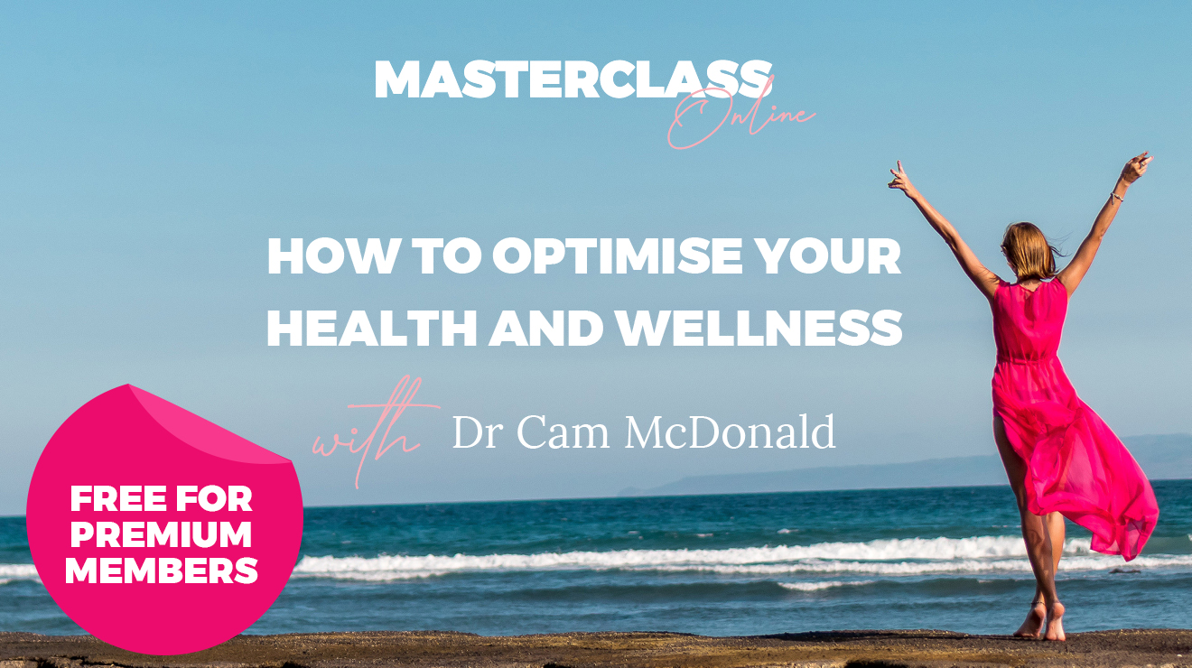 Masterclass: How to optimise your health and wellness