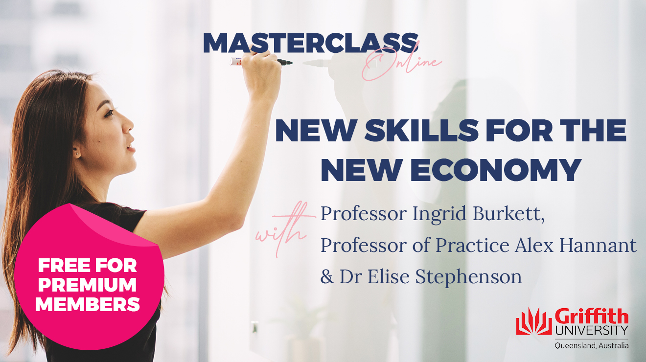 Masterclass: New skills for the New Economy