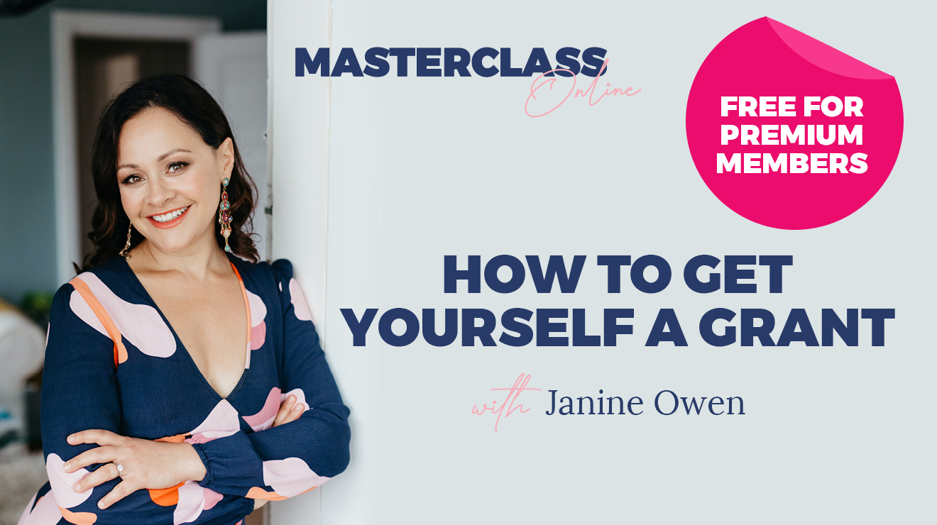 Masterclass: How to get yourself a grant