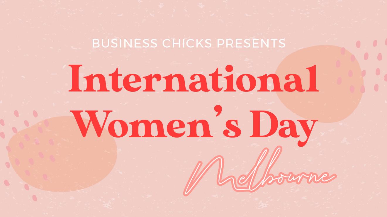 Melbourne International Women's Day