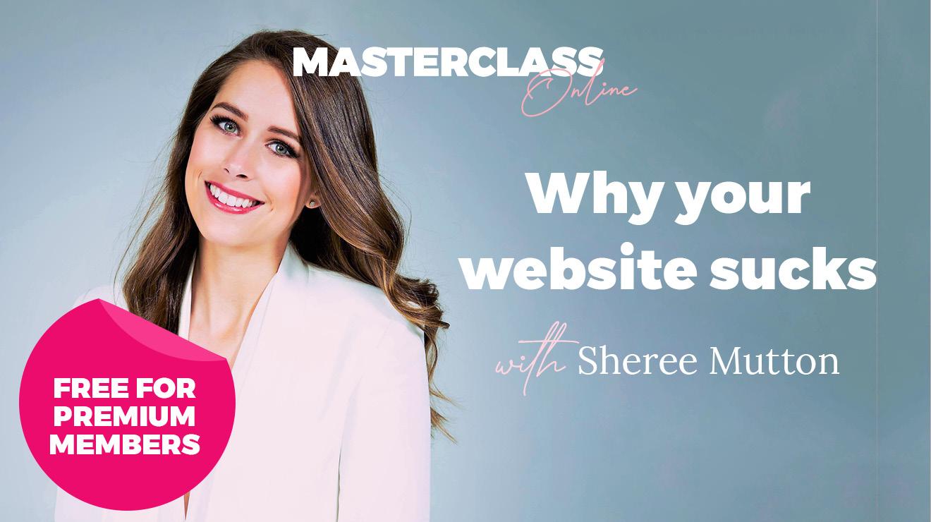 Masterclass Online: Why your website sucks