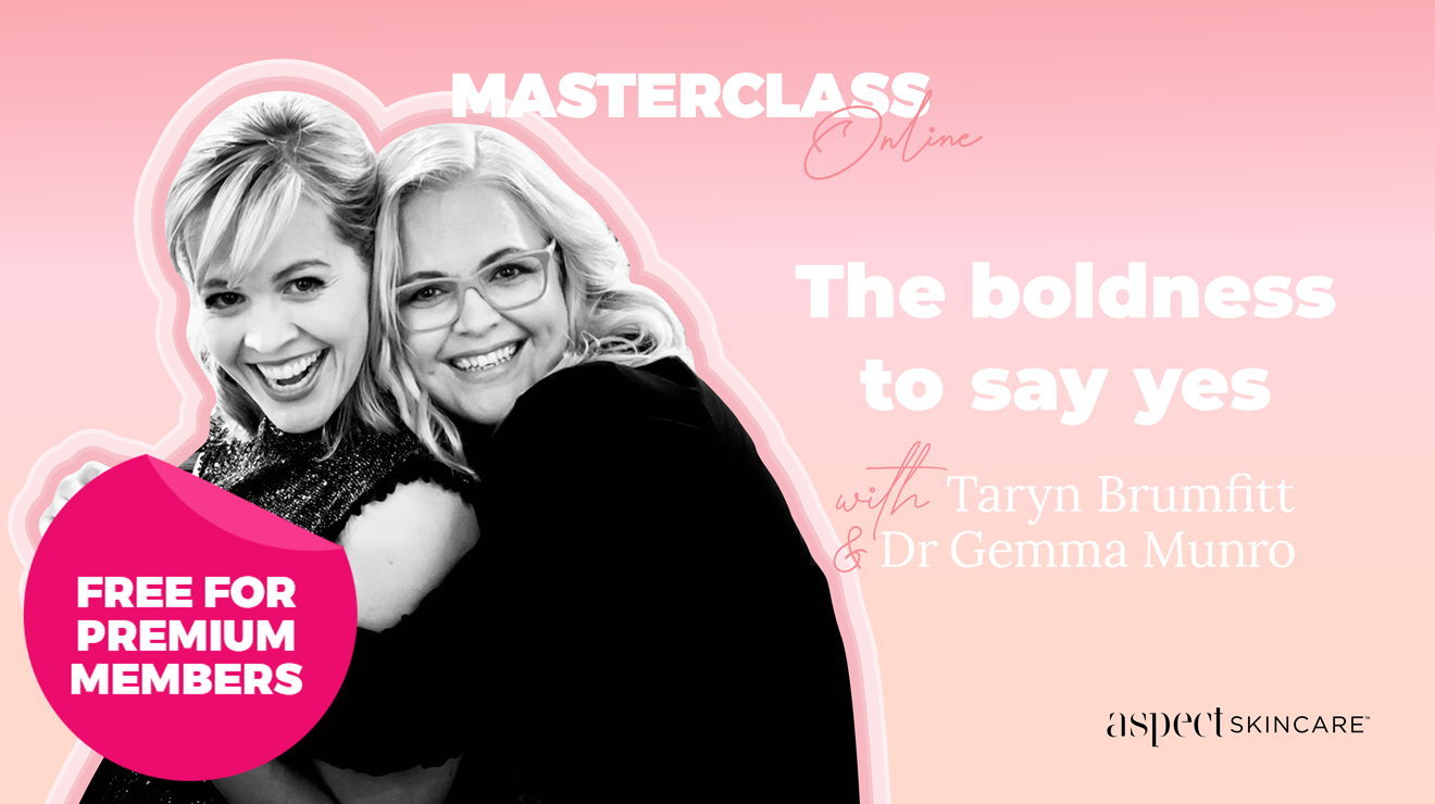 Masterclass: The boldness to say yes
