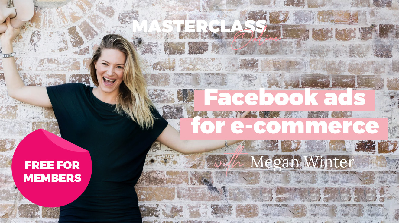 Masterclass: Facebook ads for ecommerce