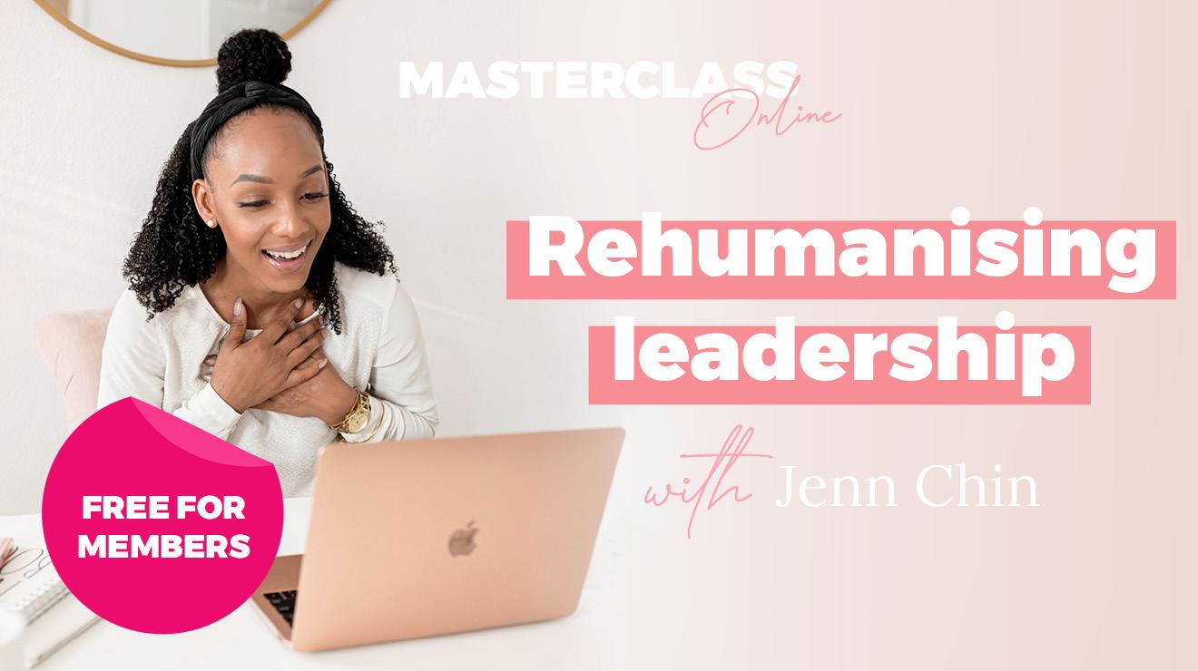 Masterclass: Rehumanising leadership