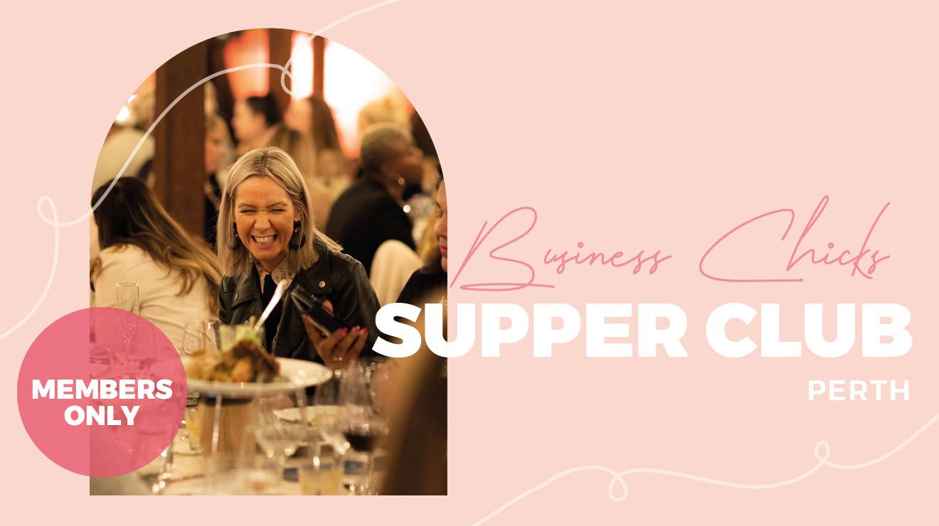 Business Chicks Supper Club: Perth