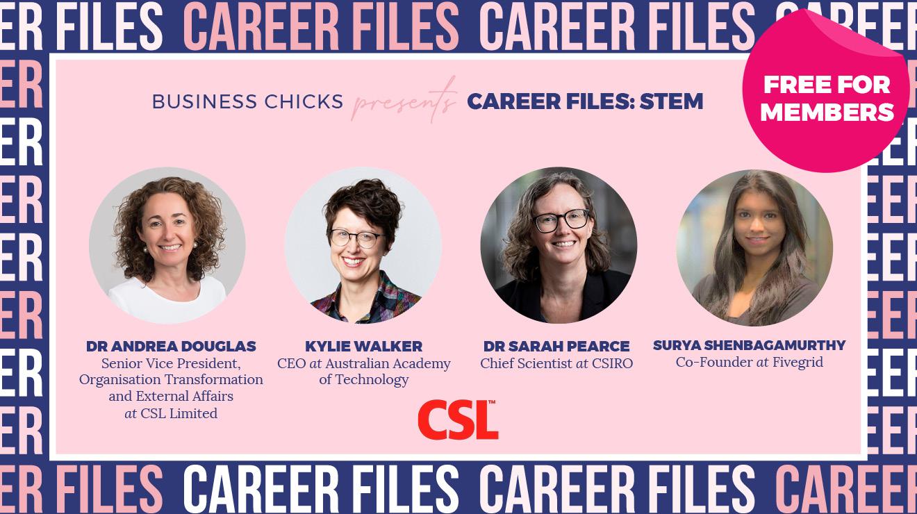 Business Chicks presents Career Files: The STEM Panel