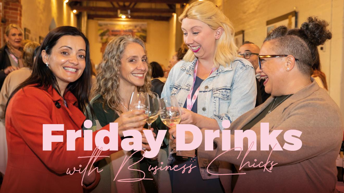 Business Chicks Friday Virtual Drinks